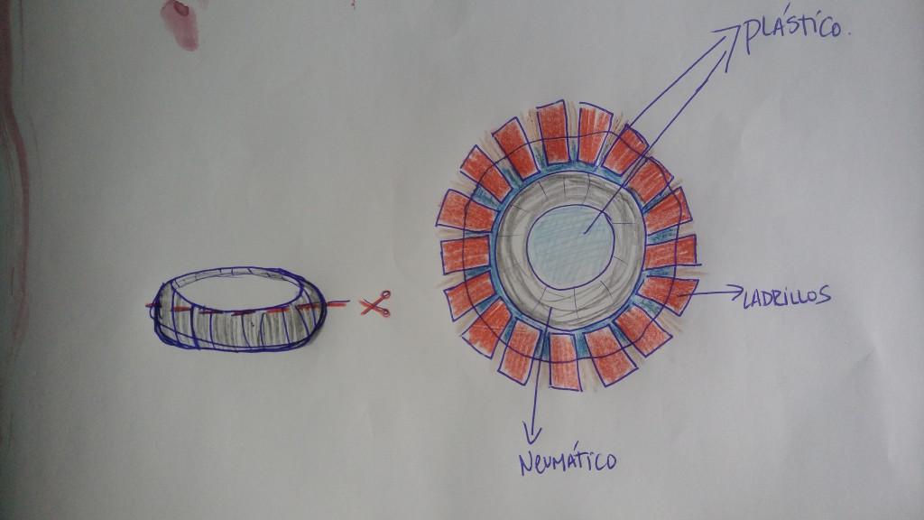 dibujo tanque de agua